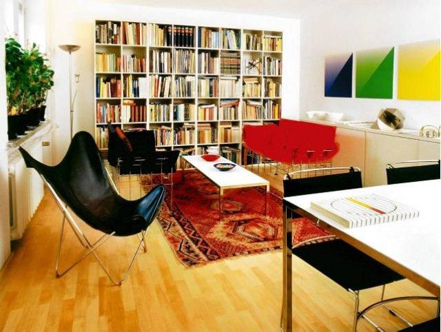 Domowa biblioteczka w for Biblioteczka w salonie