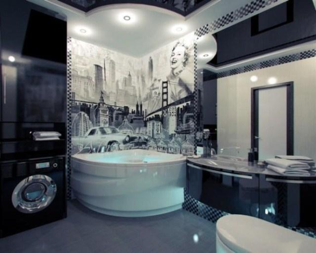 Wystr j azienki nowoczesny czy tradycyjny w for Salle de bain hotel de luxe