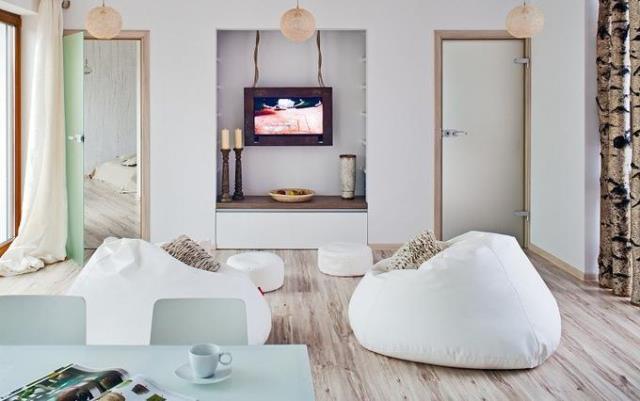 jak ustawi telewizor w salonie w. Black Bedroom Furniture Sets. Home Design Ideas
