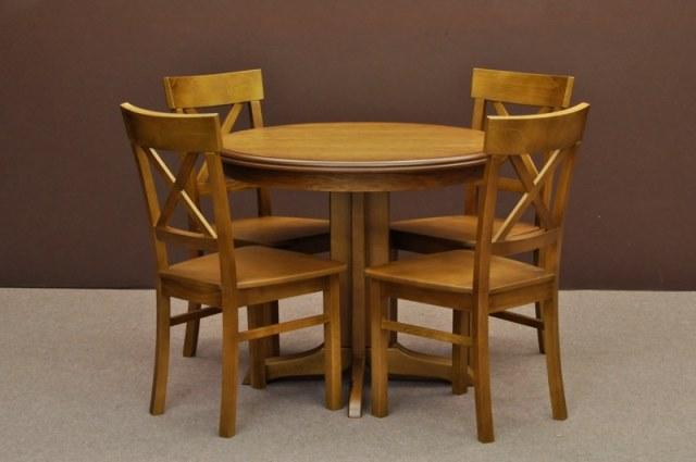 1 Zestaw Z145 Okrągły Stolik Z Krzesłami Salonmeblowynetpl