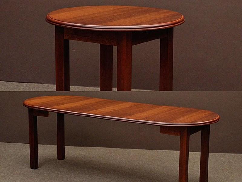 Stół S12 Okrągły Z Prostymi Nogami Salonmeblowynetpl