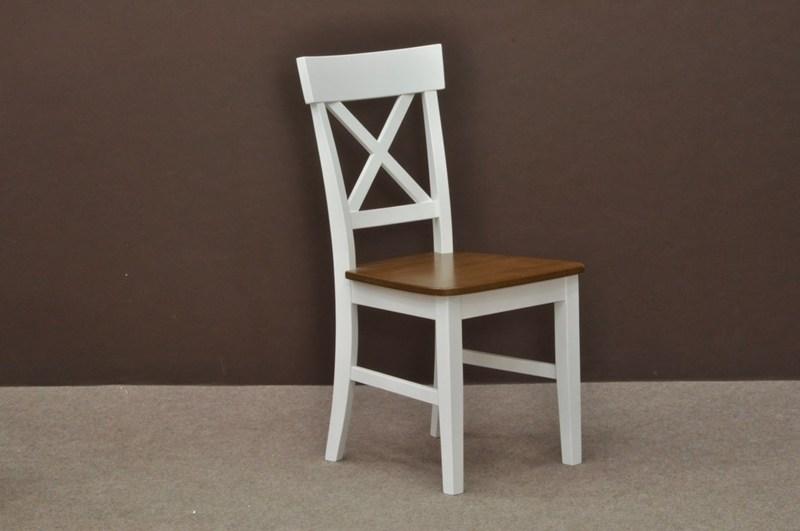 krzesła kuchenne drewniane biale