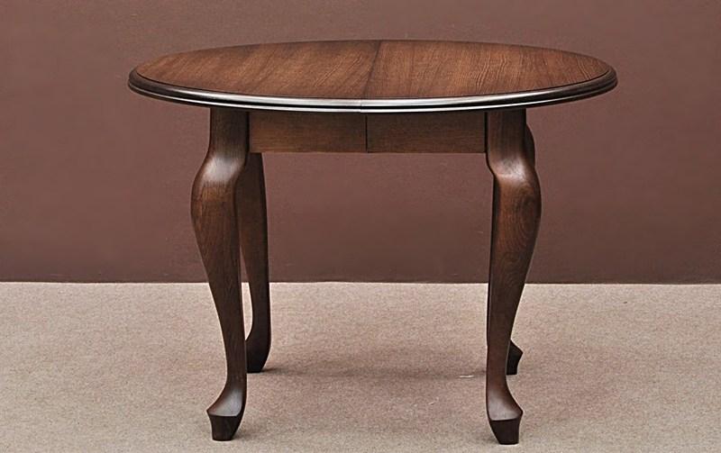 1 Okrągly Stół Do Kuchni Jadalni Drewniany Rozsuwany