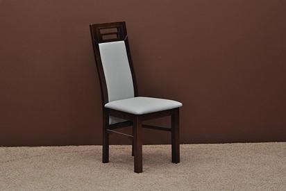 Krzesła Capri - 2szt, kolor orzech