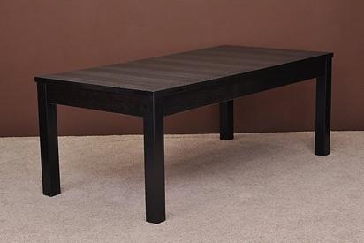 Stół S3 200x100 + 2x45, kolor czarny
