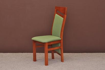 Krzesło Braga - 6szt, kolor czereśnia antyczna
