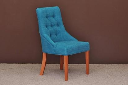 Krzesło Pikowane - 4szt, kolor calvados