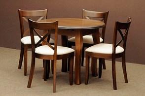1 Zestawy Stoły I Krzesła Drewniane Komplet Do Jadalni